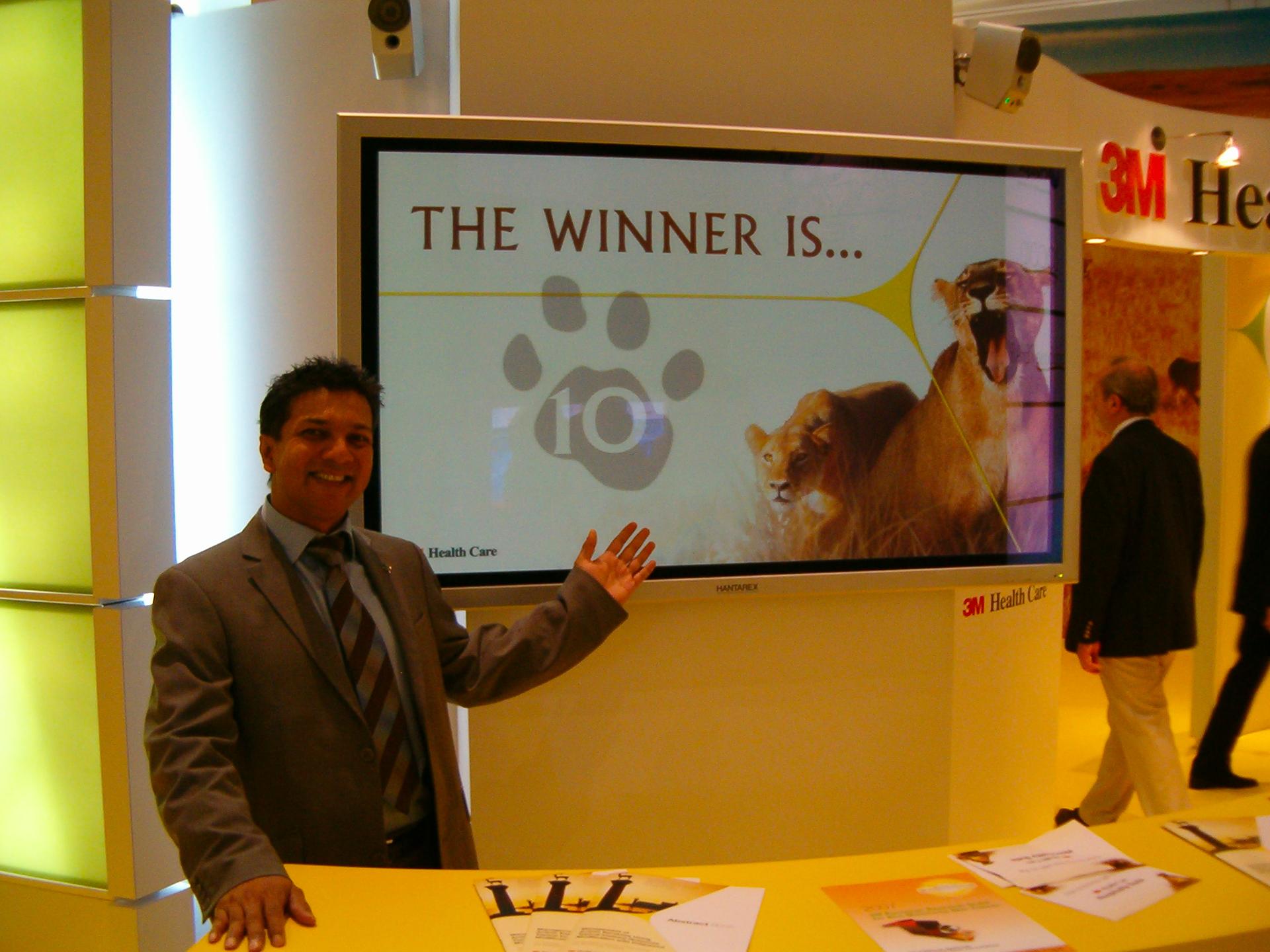 Fiera stand 3M vincitore votazione